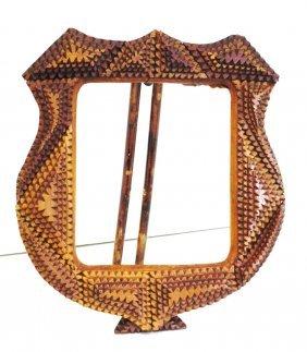 Tramp Art Wood Frame