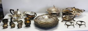 Miscellaneous Lot Of Silverplate