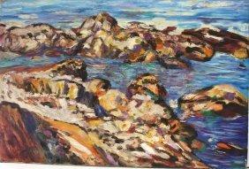 Feldman; 20thc. Oil Painting Signed