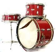 1950s Pearl Jazz Drum Set