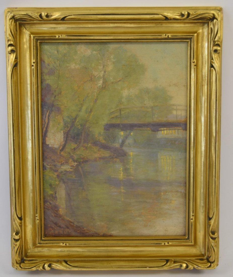Julian Onderdonk; American Oil Painting Signed