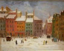 Eugeniusz Arct 20thC Polish Oil Painting Signed