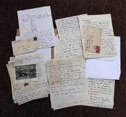 Lot of Eugene Speicher Family Correspondence Ephemera