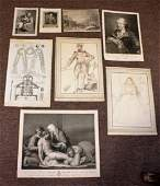 Eight8 17th 19thC Engravings