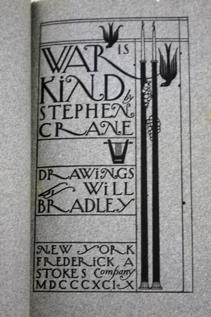 Stephen Crane: War is Kind. 1899 - 3