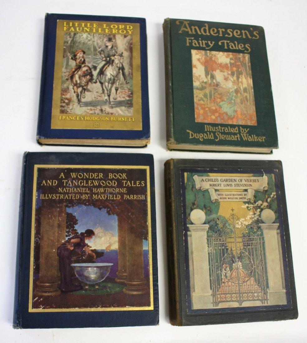 Four(4) Illustrated Children's Books