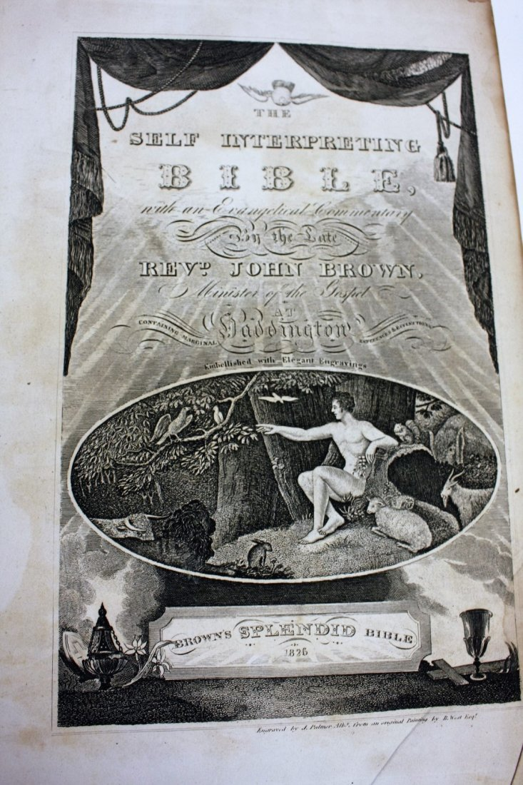 Holy Bible: Old and New Testaments.1833