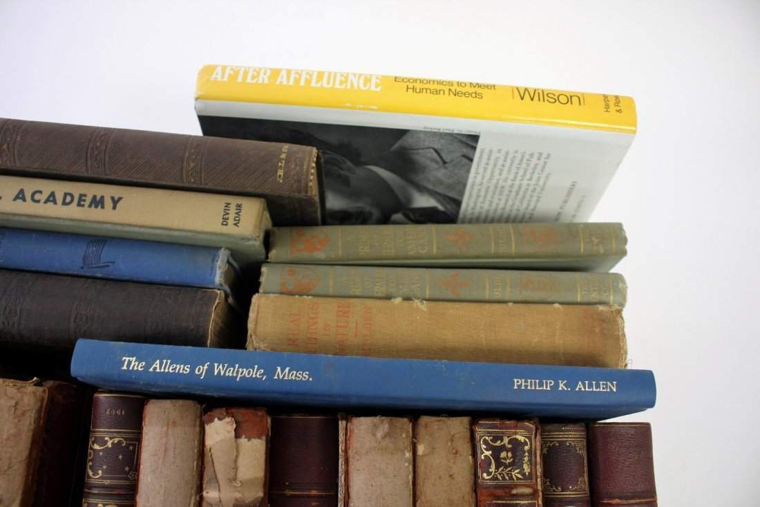Lot of Miscellaneous Estate Books(23) - 5