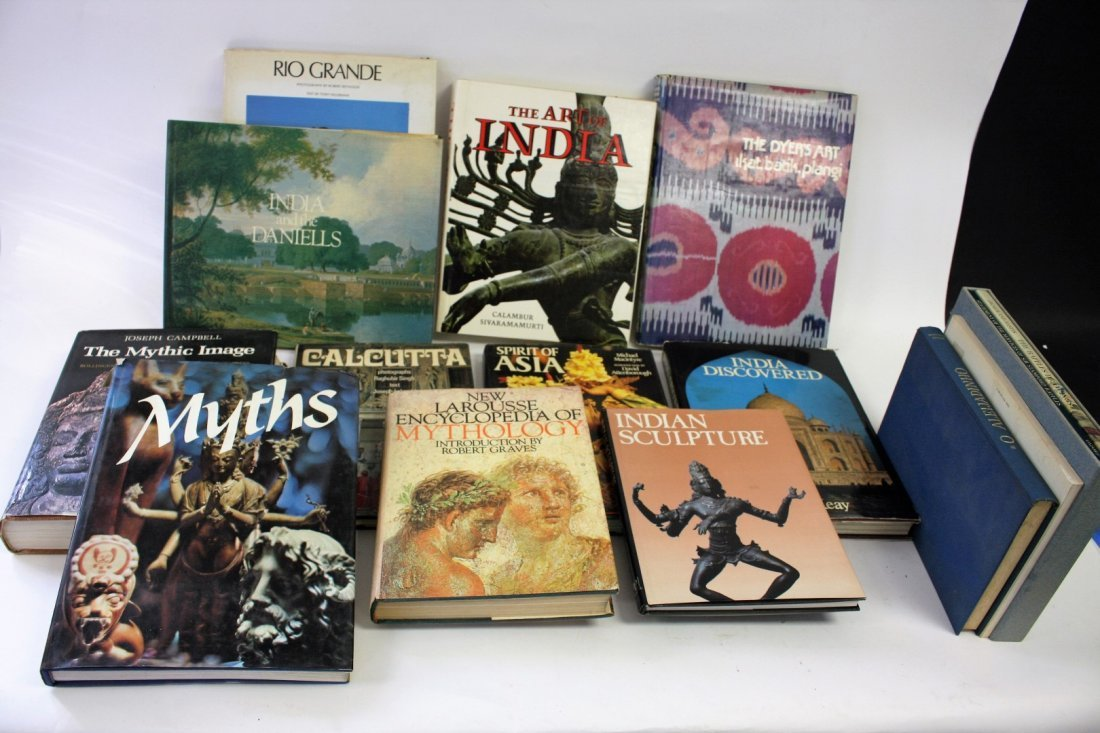 Miscellaneous Estate Lot: India, Myths, Etc.(14)