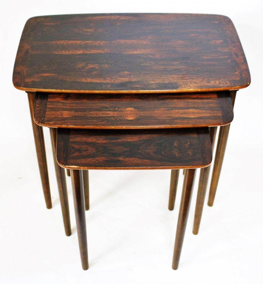 Set of Three(3) Mid Century Nesting Tables