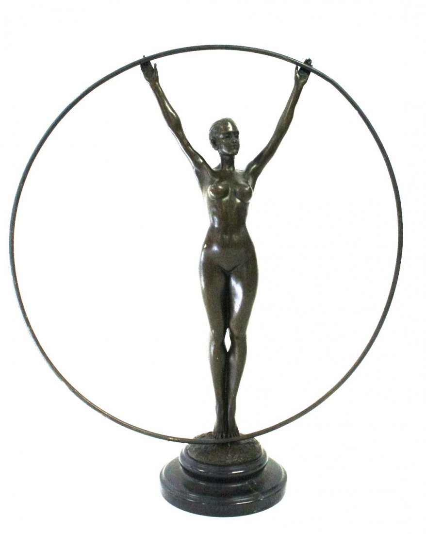 Art Deco Style Bronze Dancer