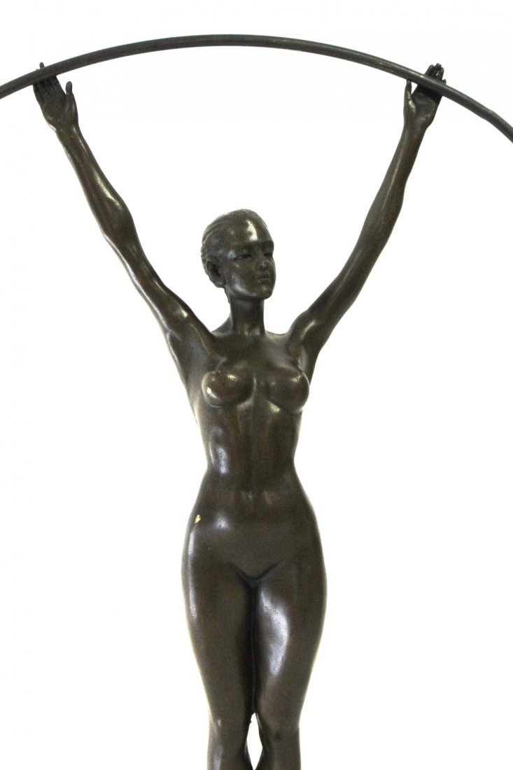 Art Deco Style Bronze Dancer - 3