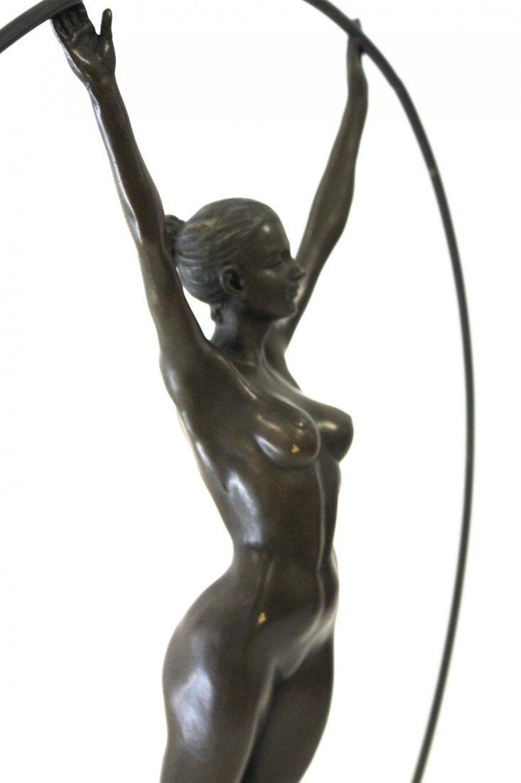 Art Deco Style Bronze Dancer - 5