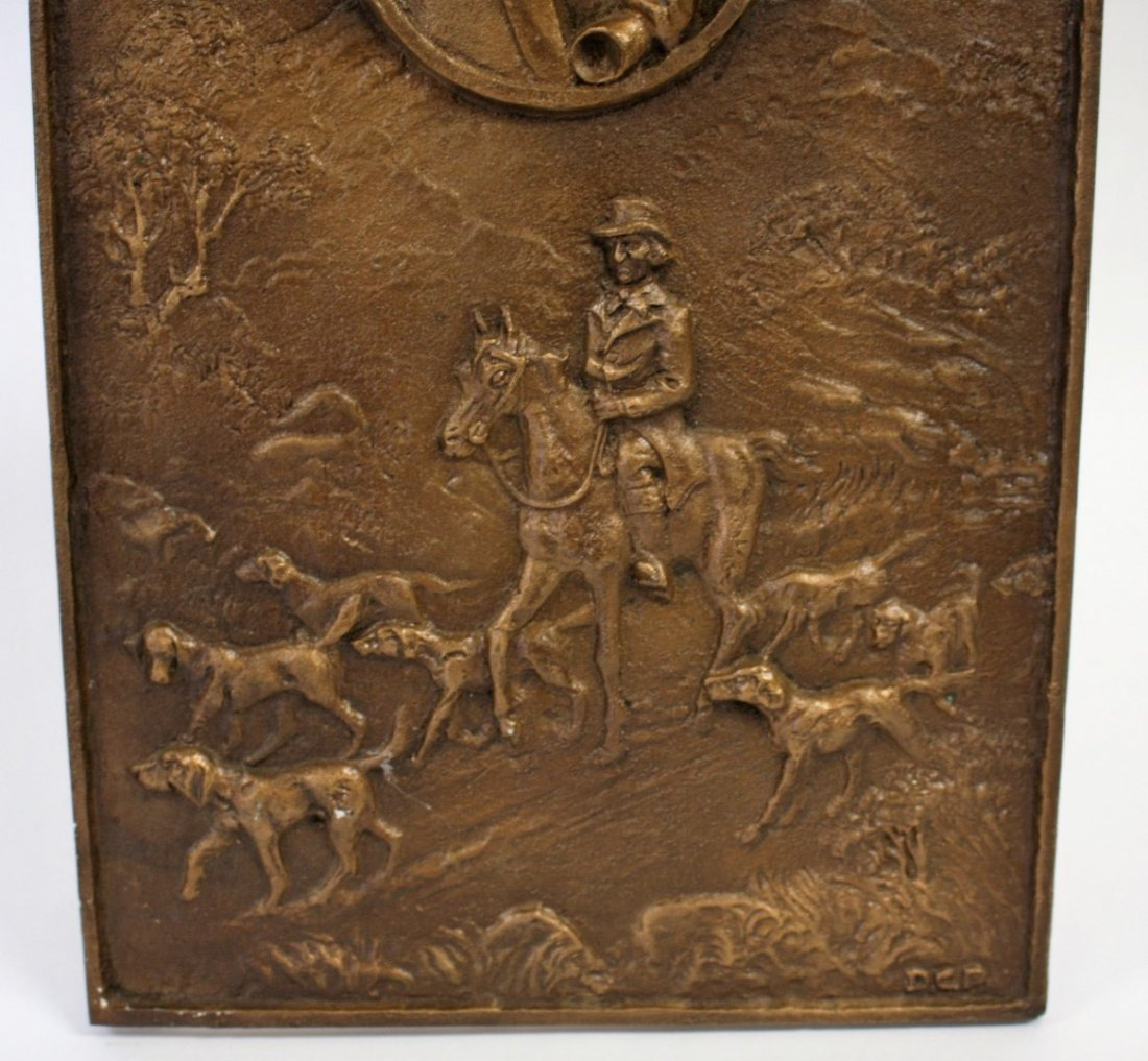 John Peel Bronze Bas Relief Plaque - 3