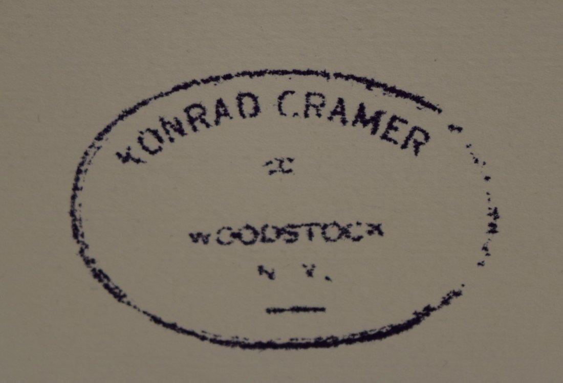 Konrad Cramer; 20thC. American Mixed Media - 4