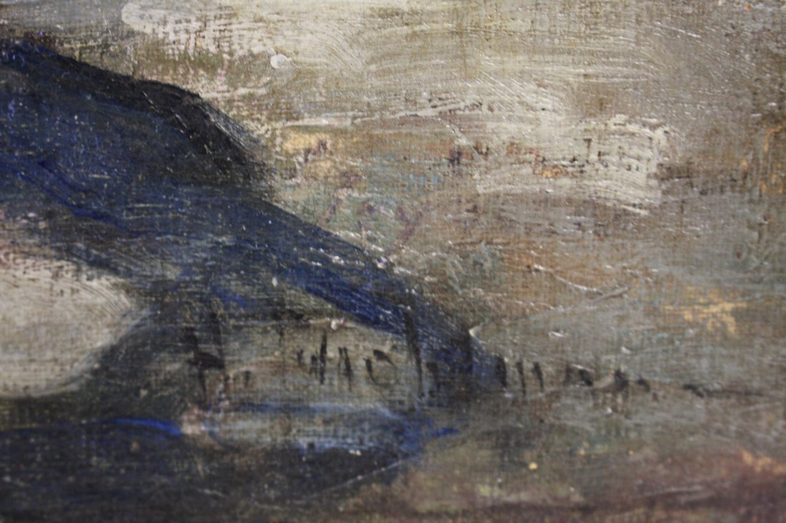 John H. Twachtman; American Oil Painting Signed - 6