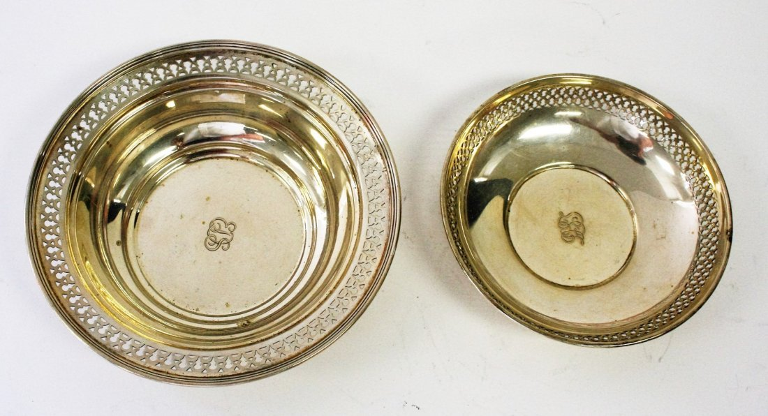 Two (2) Tiffany & Co.  Sterling Silver Bowls