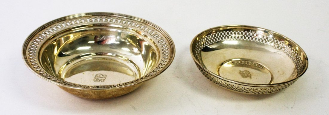 Two (2) Tiffany & Co.  Sterling Silver Bowls - 2