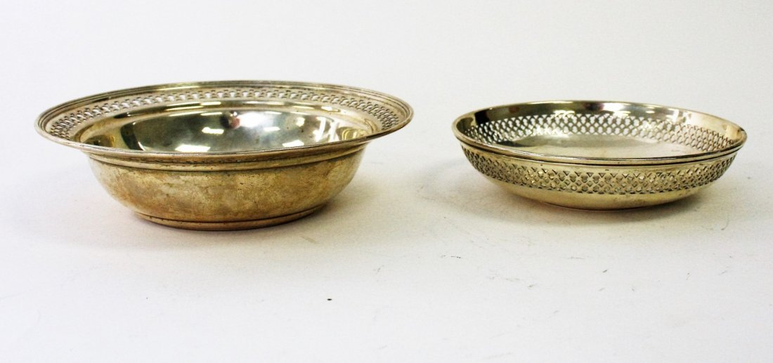 Two (2) Tiffany & Co.  Sterling Silver Bowls - 3