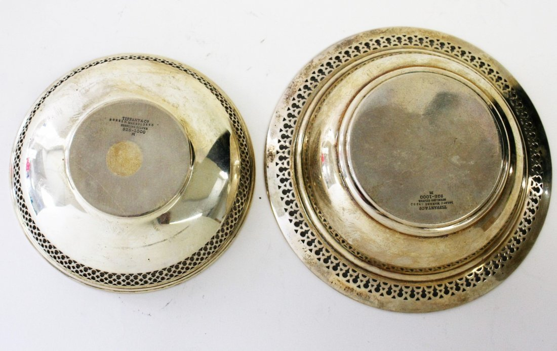 Two (2) Tiffany & Co.  Sterling Silver Bowls - 4