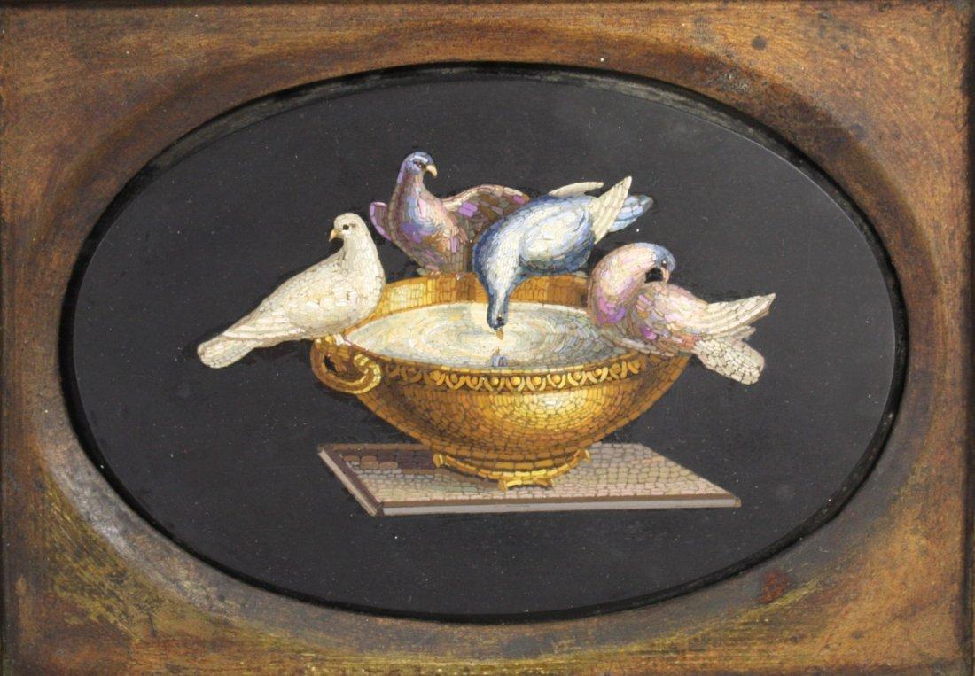 19thC. Italian Micro Mosaic Plaque - 3