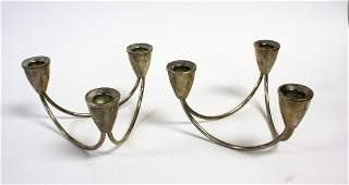 Pair of Gorham Sterling Silver Candlesticks