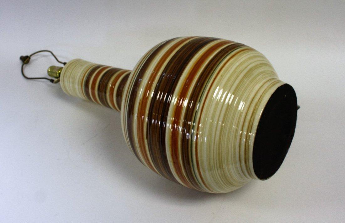 Mid Century Pottery Table Lamp - 5
