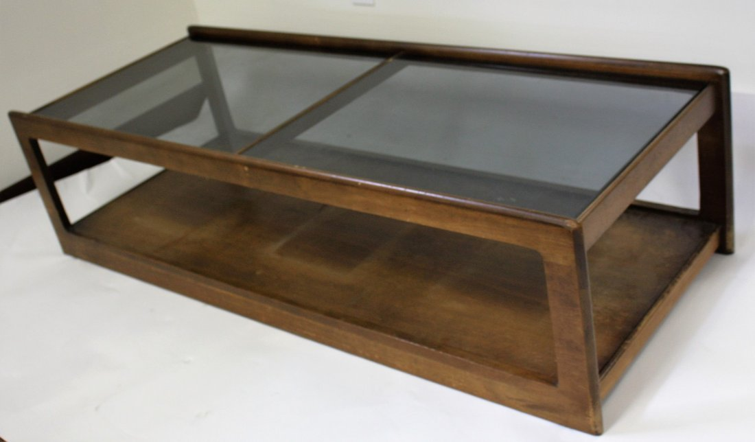 Three(3) Piece Mid Century Coffee Table Set - 3