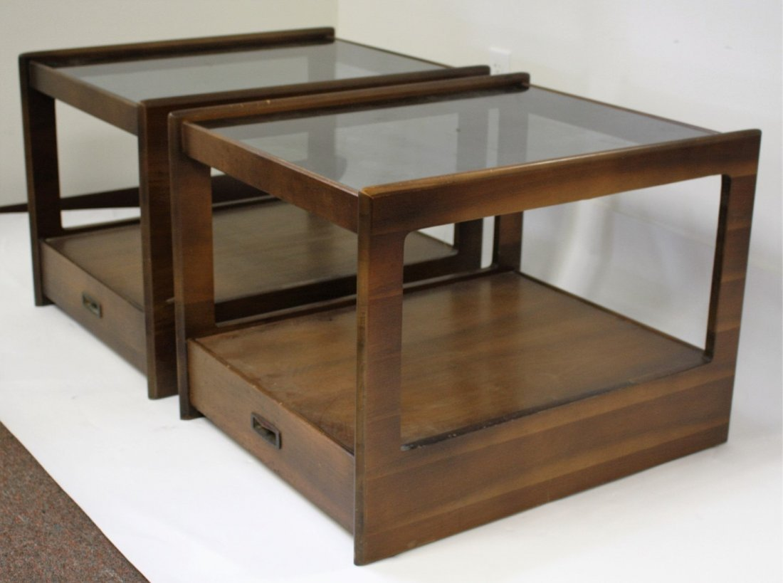 Three(3) Piece Mid Century Coffee Table Set - 5
