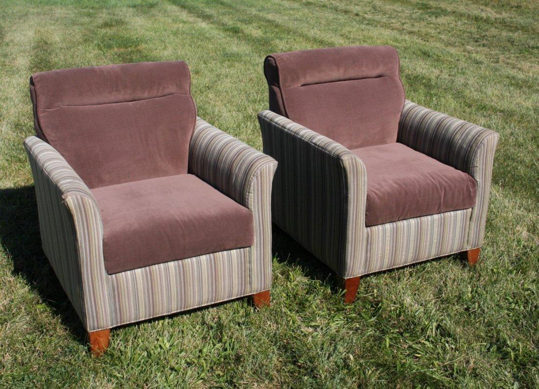 Pair Modernism Design Club Chairs