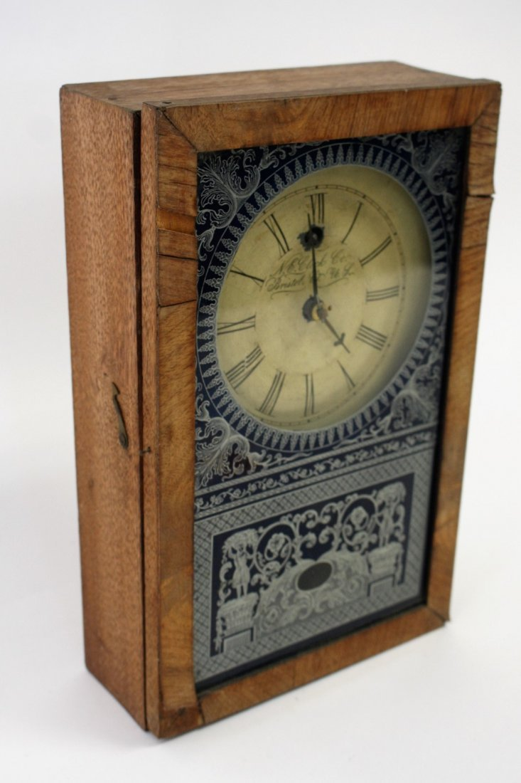 New England Clock Co. Mantle Clock - 3