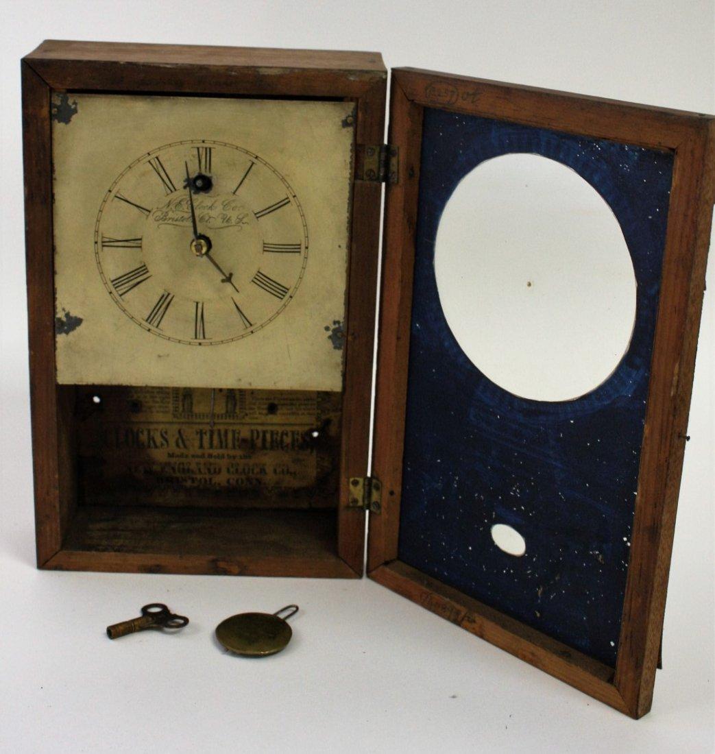New England Clock Co. Mantle Clock - 5