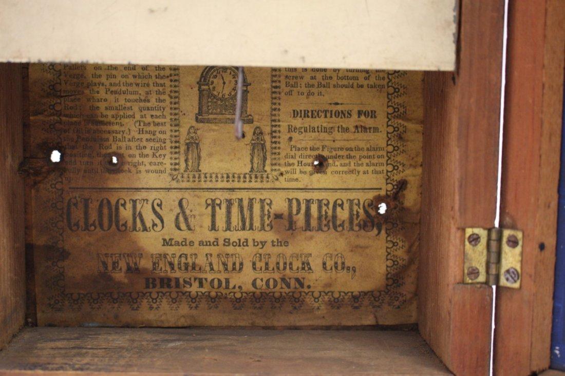 New England Clock Co. Mantle Clock - 7