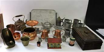 Miscellaneous Lot o fEstate Items30