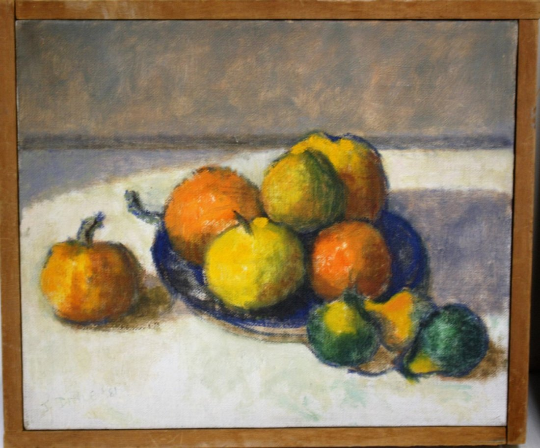 Joy Divine; Three(3) 20thC. American Oil Paintings - 2