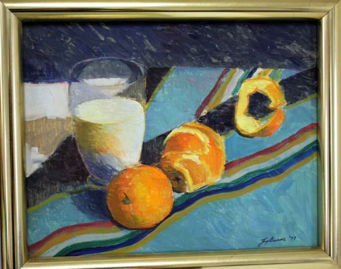 Joy Divine; Three(3) 20thC. American Oil Paintings - 3