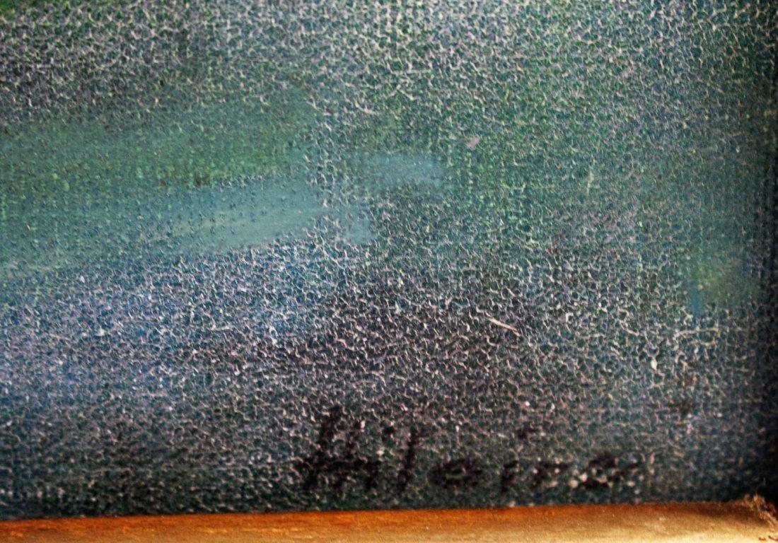 Hilaire; 20thC. Oil Paintnig Signed - 3