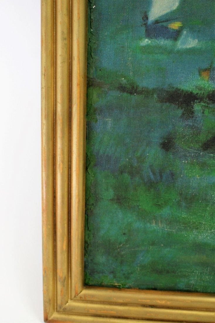 Hilaire; 20thC. Oil Paintnig Signed - 4