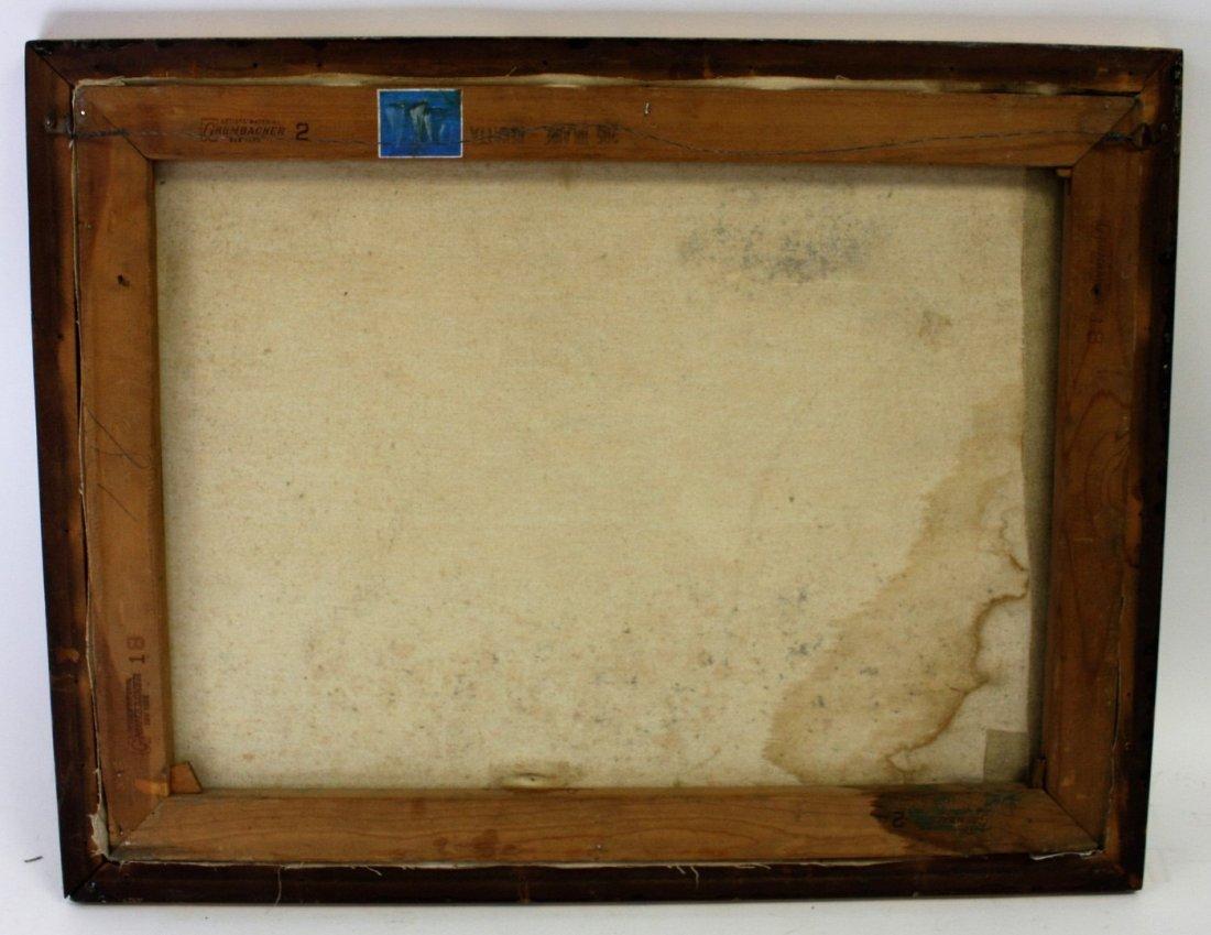 Hilaire; 20thC. Oil Paintnig Signed - 6