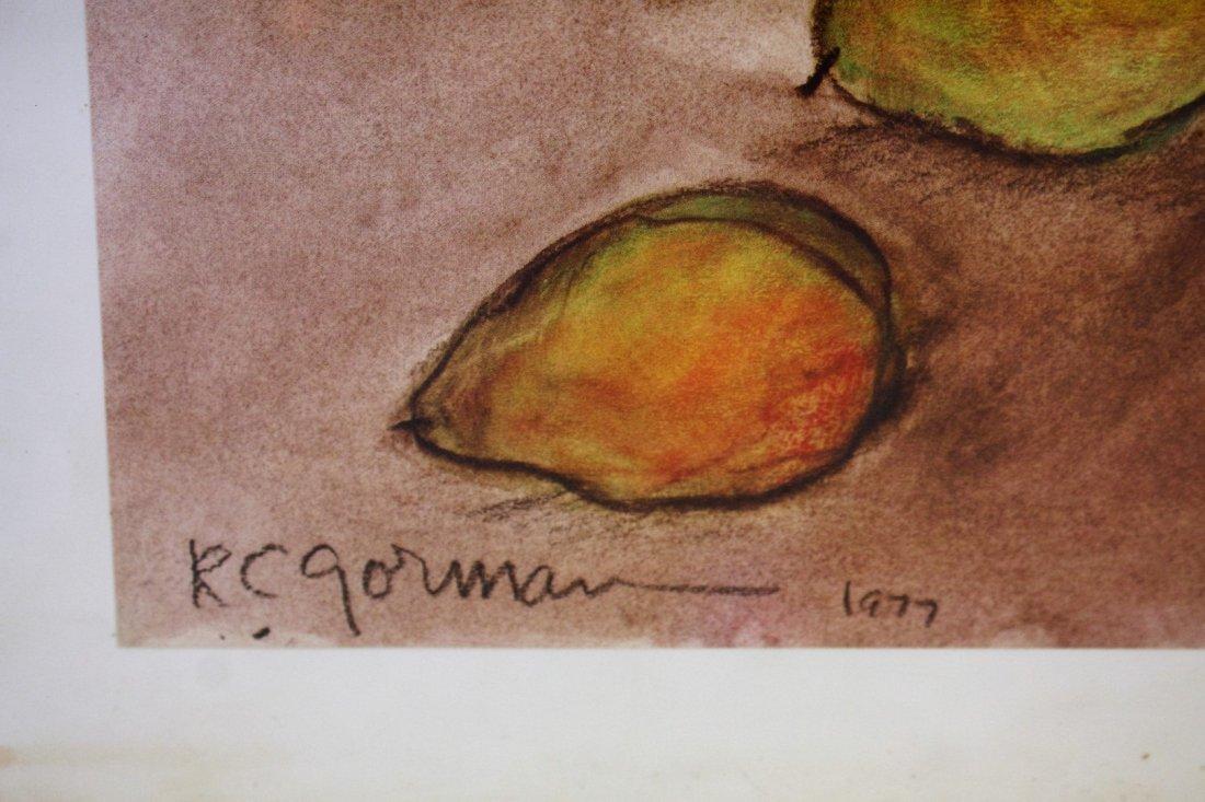 R.C. Gorman; Framed Print Signed - 4