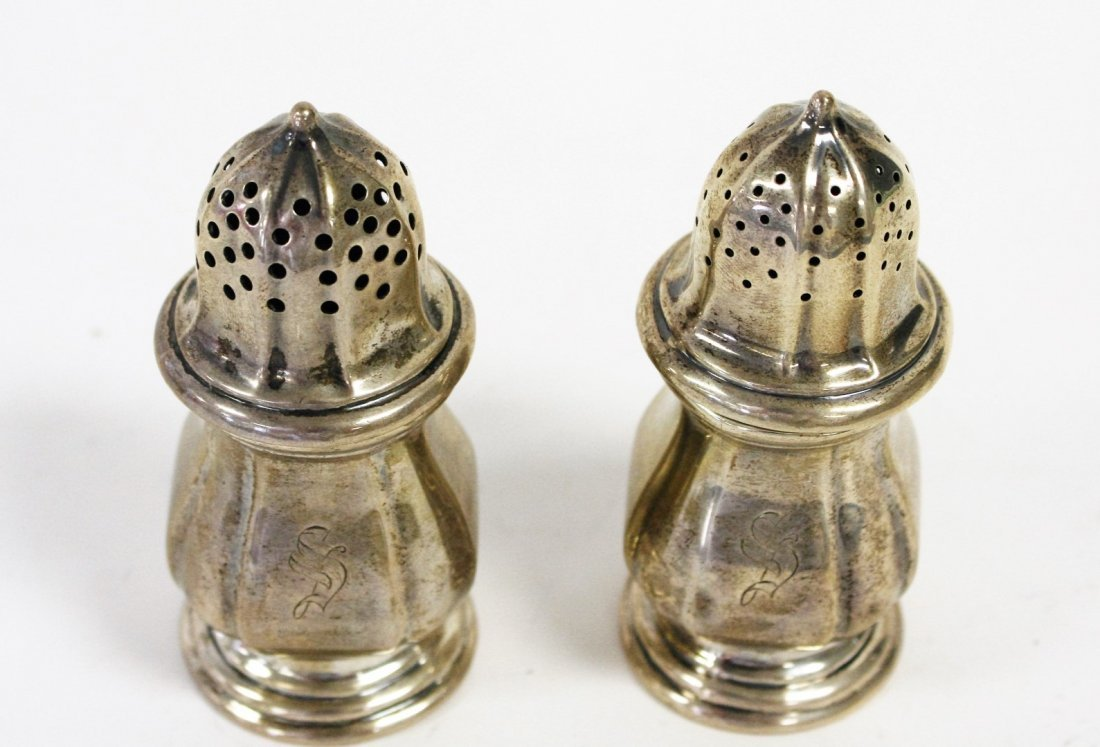Sterling Silver Salt And Pepper - 3