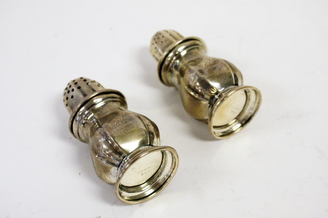 Sterling Silver Salt And Pepper - 4