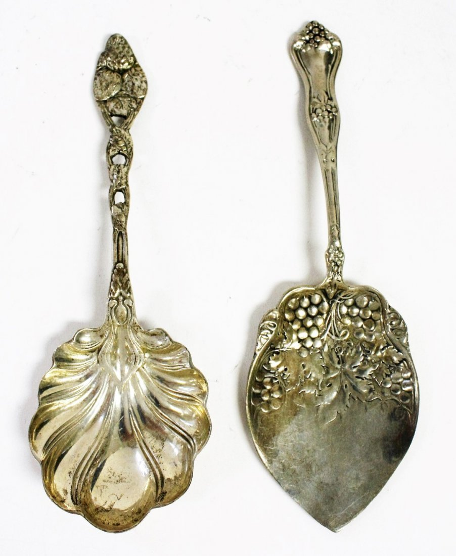 Two (2) Sterling Serving Pieces