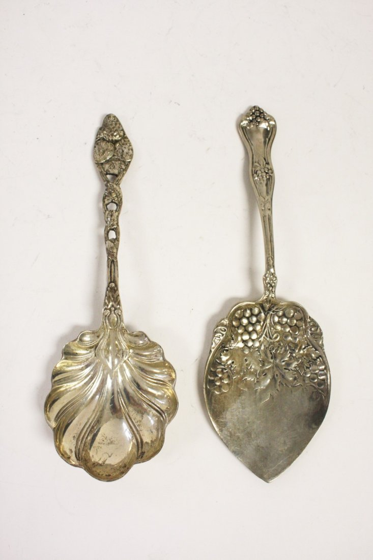 Two (2) Sterling Serving Pieces - 2