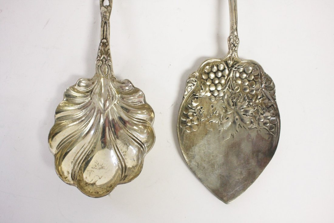 Two (2) Sterling Serving Pieces - 4