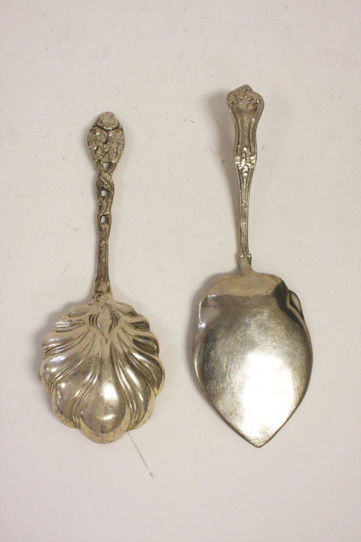Two (2) Sterling Serving Pieces - 5