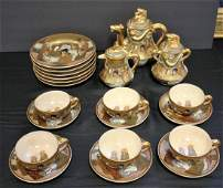 19thC. Satsuma Porcelain Tea Set