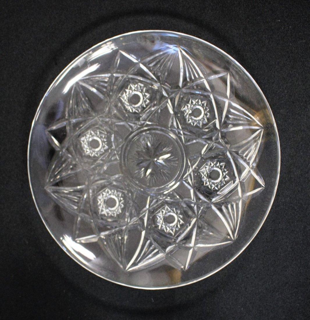 Six(6) Baccarat Crystal Dessert Plates - 3