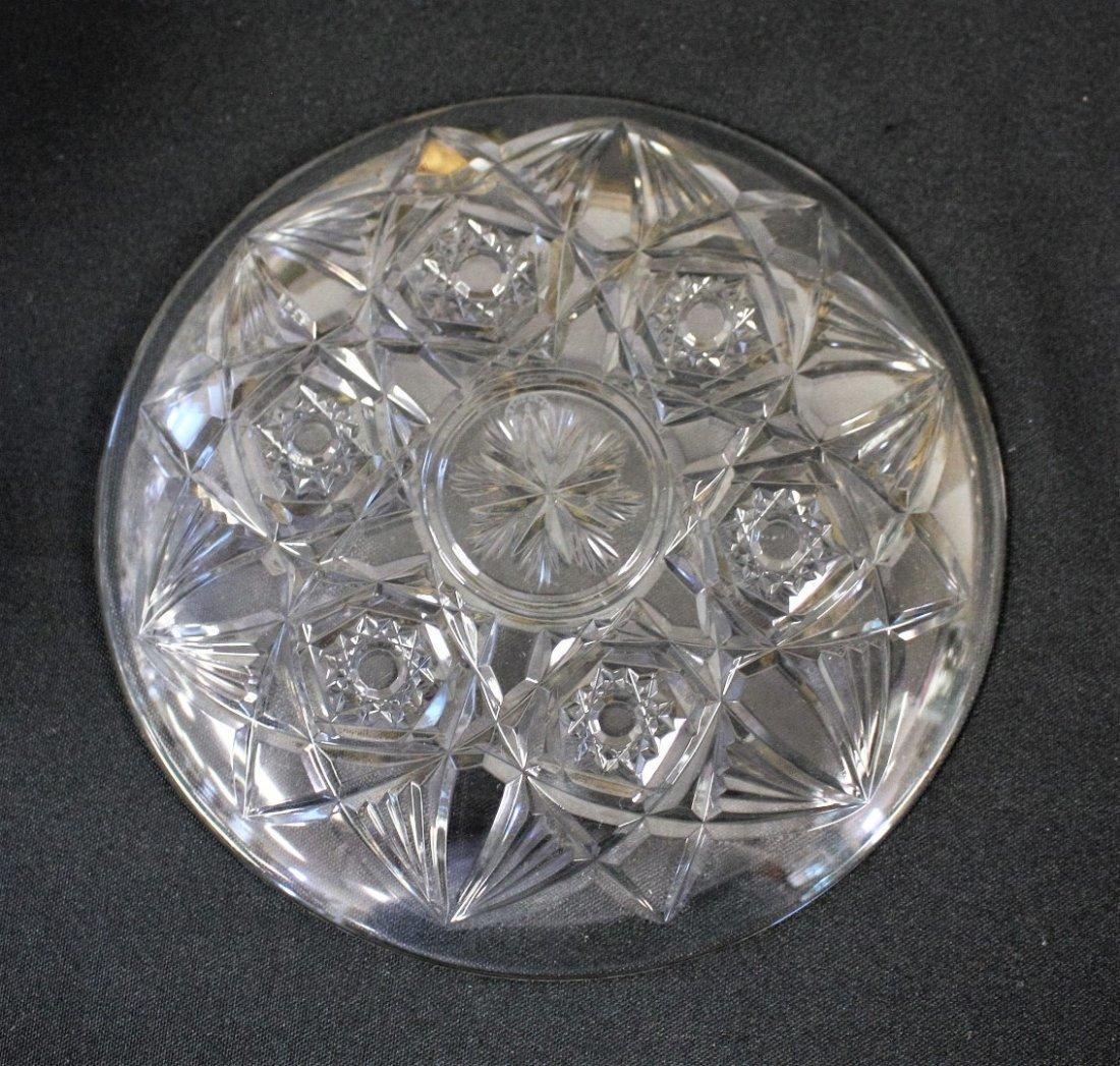 Six(6) Baccarat Crystal Dessert Plates - 4