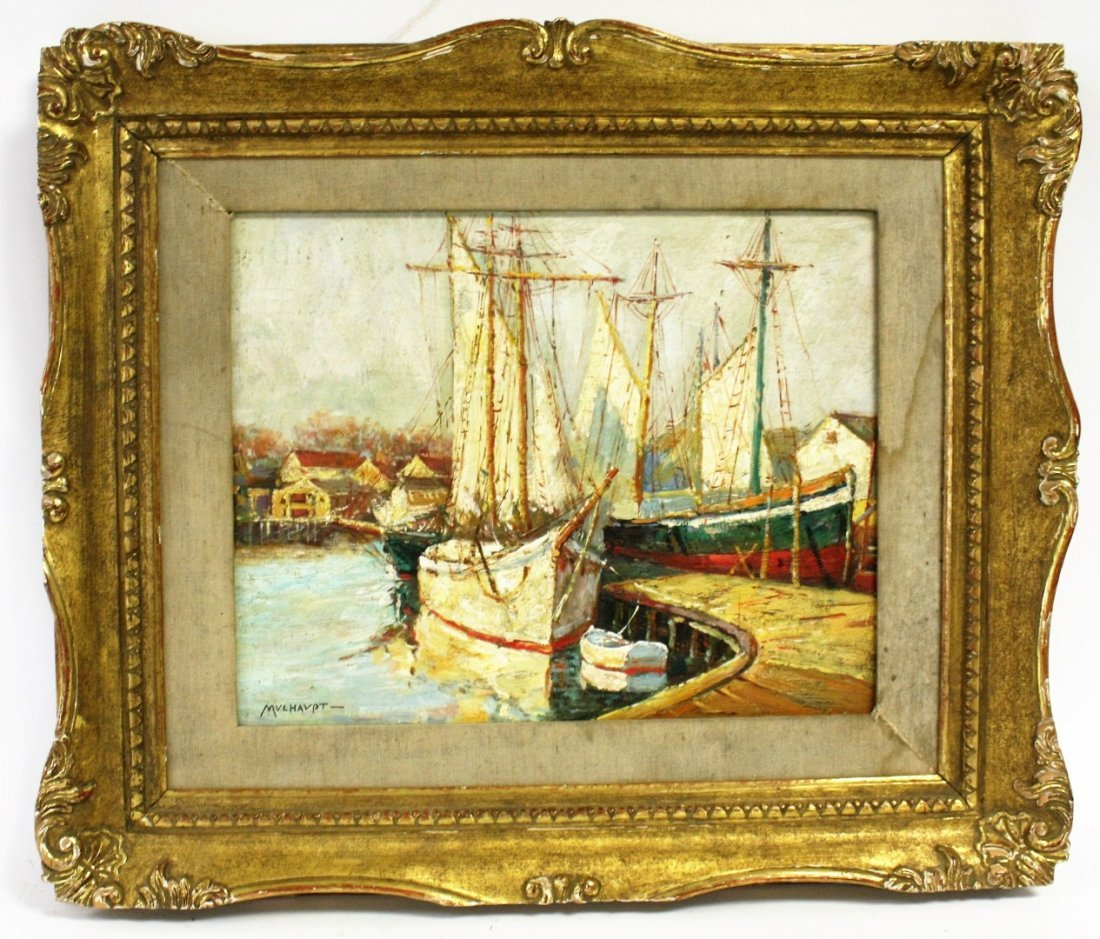 Frederick Mulhaupt(after); American Oil Painting - 4